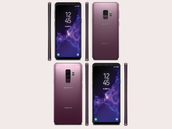 Samsung Galaxy S9, Galaxy S9+ in Lilac Purple color leaked in render