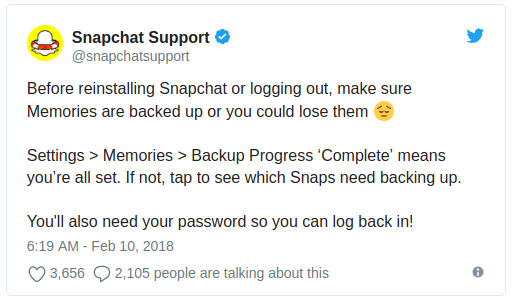 Here's how you downgrade to the older and better version of Snapchat