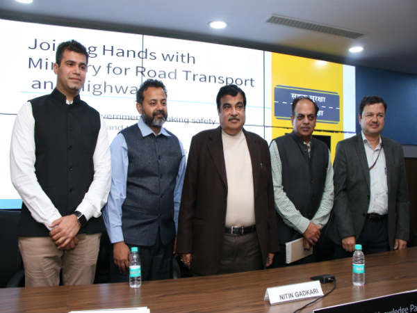 Uber join hands with Ministry of Road Transport and Highways
