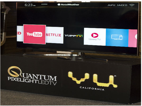 Vu Televisions launches Pixelight LED TV