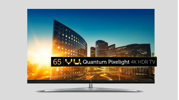 Vu launches new Quantum Pixelight 4K smart LED TVs in India
