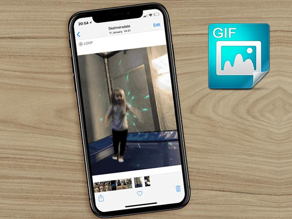 Here's a trick to turn live photos into animated GIFs on iPhones
