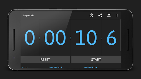 How to set a timer or stopwatch through Google homepage