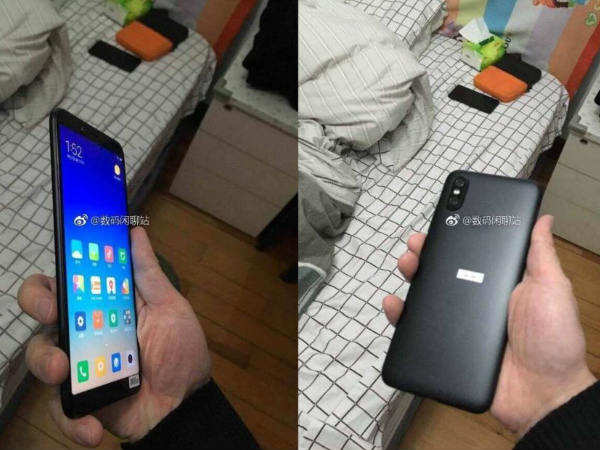 Xiaomi Mi 6X new leak confirms vertical camera setup and more