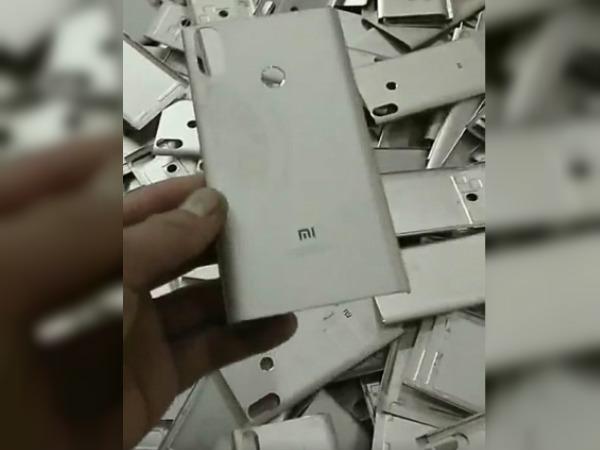 Xiaomi Mi 6X new leak suggests metal unibody design and more