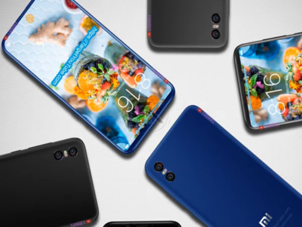 Xiaomi Mi 7 imagined with in-display fingerprint sensor