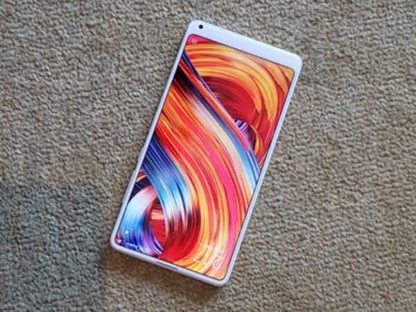 Xiaomi Mi Mix 2s AnTuTu score and codename revealed