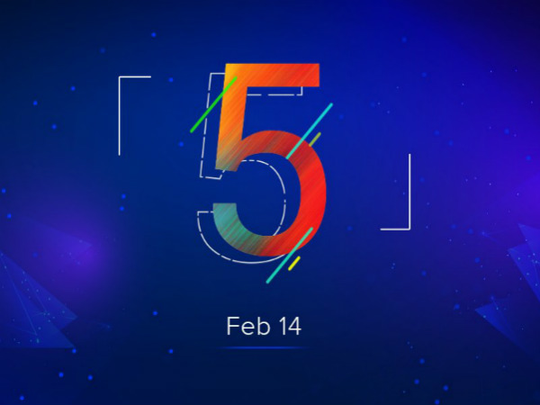 Xiaomi Redmi 5 could be launched in India on February 14, hints teaser