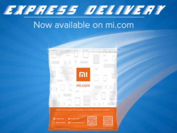 Xiaomi's new Express Delivery Service will deliver within just one day