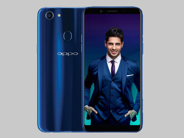 Oppo F5 Sidharth Limited Edition sold out within minutes on Amazon