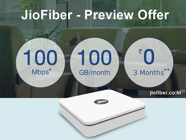 Reliance JioFiber could be launched by the end of March