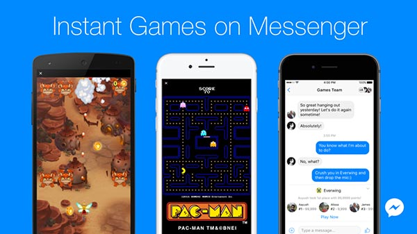 How to find secret games on Facebook Messenger