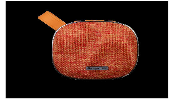 "Zebronics introduces ""Passion"", portable Bluetooth Speaker at Rs. 899/-"