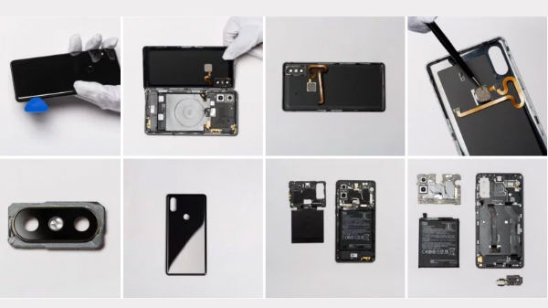 Xiaomi Mi Mix 2S teardown: Here's what's inside the ceramic shell
