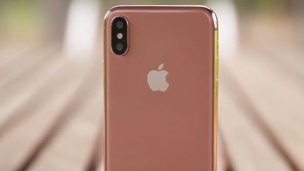 Apple may launch a Blush Gold color variant of iPhone X