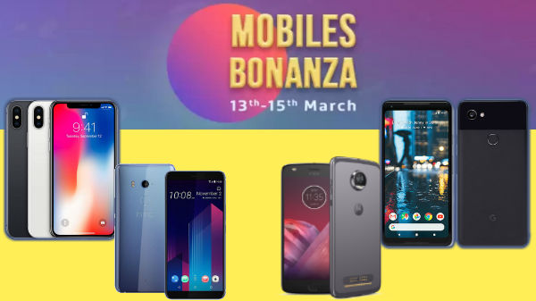 Flipkart Bonanza offers heavy discounts on smartphones