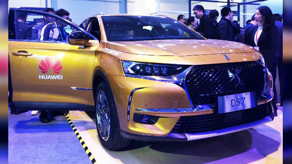 DS 7 debuts as the first car featuring Huawei Connected Car solution