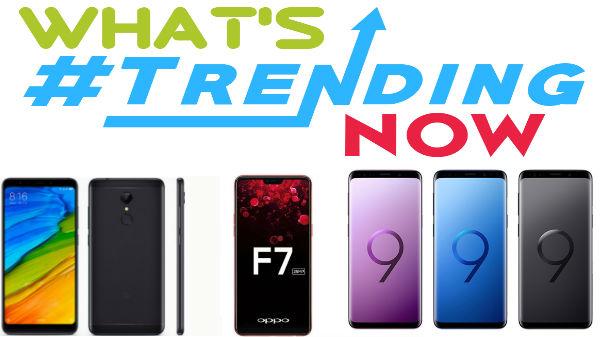 Last week most Trending Smartphones