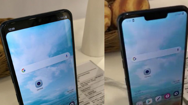 LG G7 new leaked image shows optional iPhone X-like notch