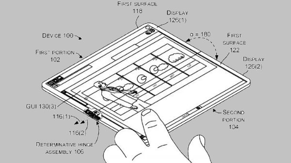 Microsoft's new hinge patent hints at foldable smartphones