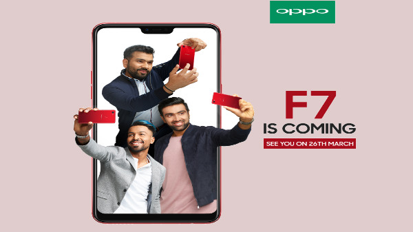 Oppo F7 officially confirmed to feature a 25MP front camera