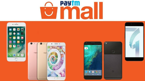 PayTmMall: Upto 50% off on smartphones