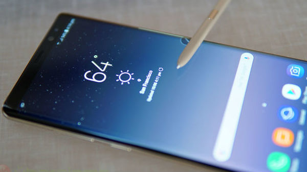 Samsung Galaxy Note 9 might not feature in-display fingerprint sensor