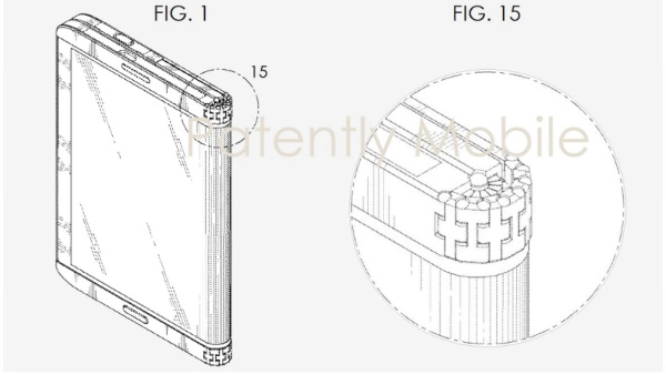 Samsung's latest patents have some interesting design for smartphones