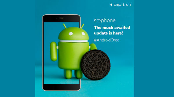 Smartron srt.phone starts receiving Android Oreo update