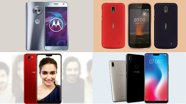 Android Oreo-powered smartphones from Rs 4,000 to Rs 25,000 to buy