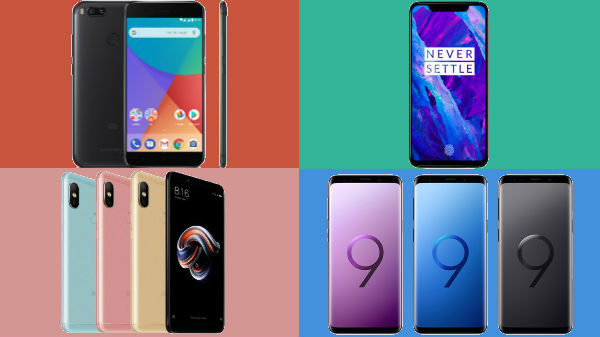 Trending smartphones from last week: OnePlus 6, Galaxy S9+ and more