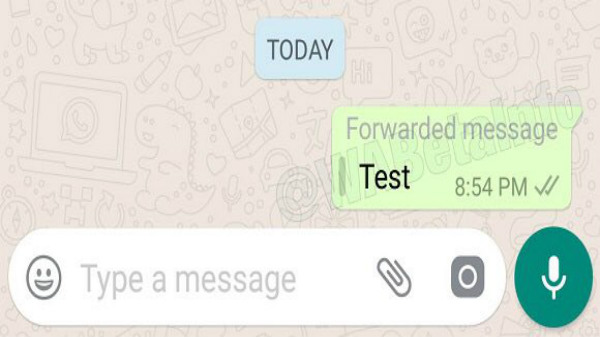 WhatsApp to rollout Forwarded Message feature to avoid spam