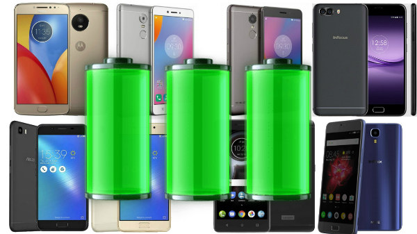 Best battery backup 4G smartphones to buy in India under Rs. 10,000