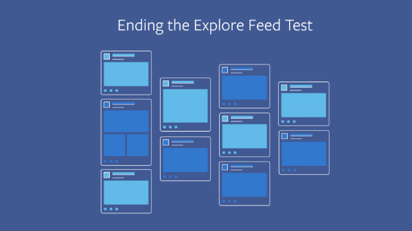 Facebook ends Explore news feed experiment after negative feedback