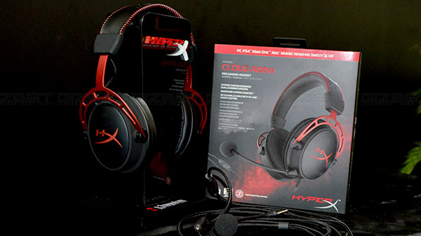 HyperX launches Cloud Alpha gaming headset in India