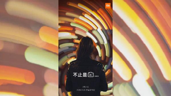 Xiaomi Mi Mix 2S camera teaser tips at AI capabilities