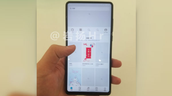 Xiaomi Mi Mix 2S images leaked; selfie camera placed at bottom bezel