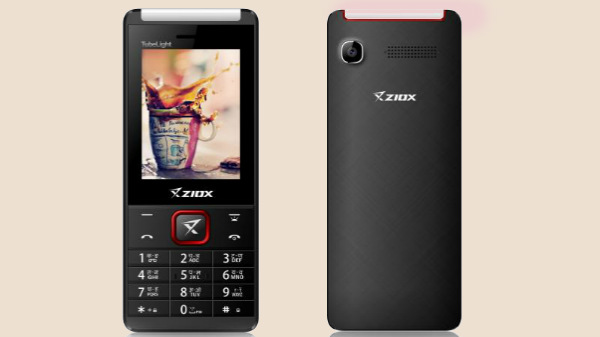 Ziox Tubelight feature phone launched for Rs. 915