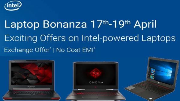 Flipkart Laptop Bonanza sale offers on laptops from April17 to April19