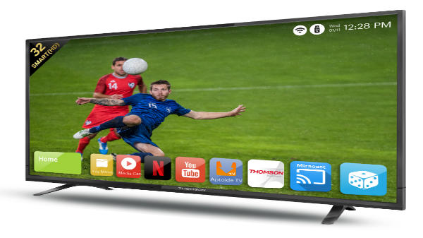 Thomson launches a new range of its smart TV's in India