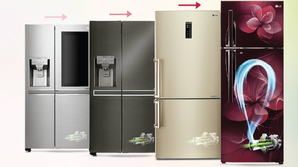 LG Inverter Linear Cooling refrigerators set new standards for home appliances