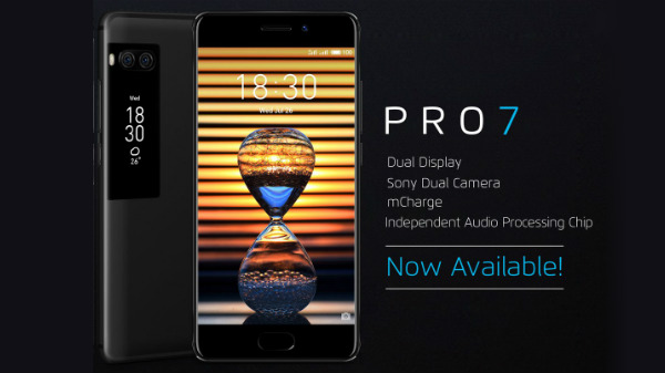Meizu Pro 7 with dual displays launched in India: Price and specs