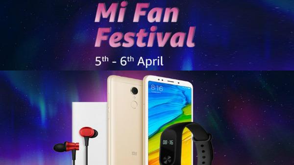 Mi Fan Festival on Amazon: Redmi 5, MI MAX 2, Redmi Y1 and more