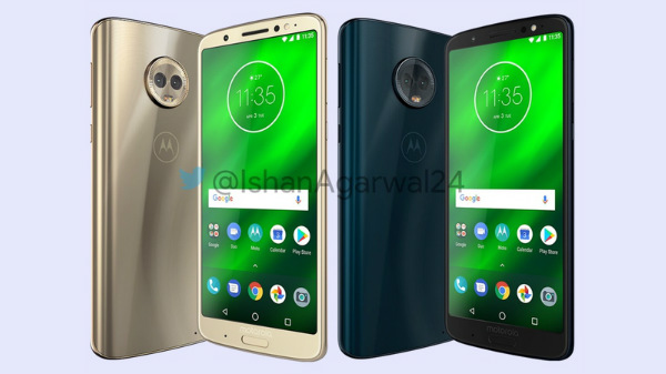 Moto G6, G6 Play and G6 Plus renders hit the web