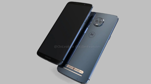 Moto Z3 Play renders show its design from all angles