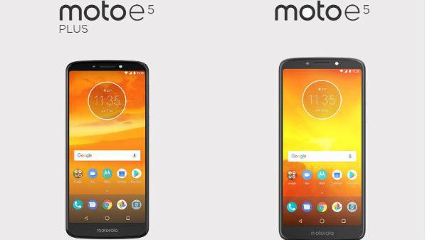 Motorola Moto E5, E5 Plus, E5 Play go official; Specs and features