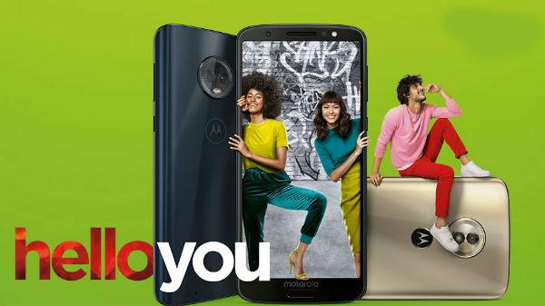 Motorola's Moto G6 and E5 series will not get regular security updates