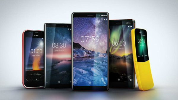 New Nokia 6, Nokia 7 Plus, Nokia 8 Sirocco, Nokia 8110 listed online