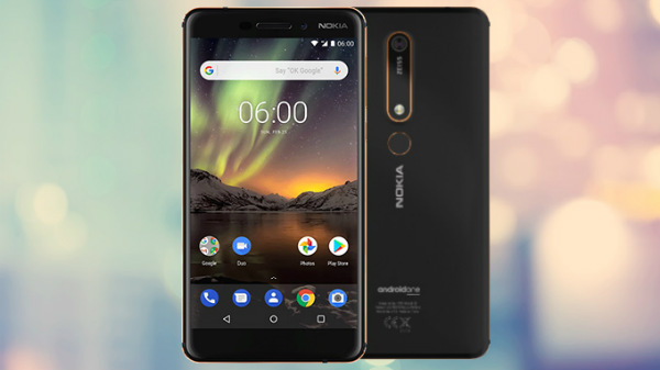 Nokia 6 (2018) with 4GB RAM coming soon to India at Rs. 18,999