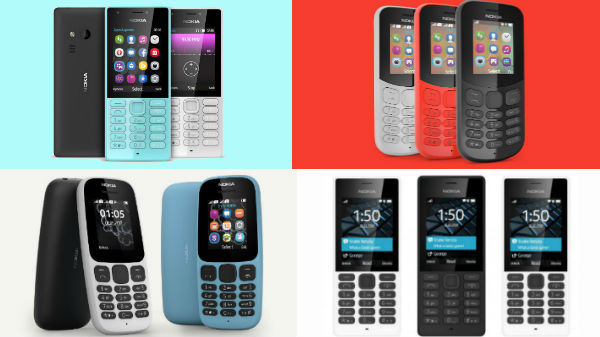 Offers on Nokia feature phones: Nokia 105, Nokia 216, 3310 and more